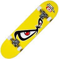 Skateboard NoFear - gelb