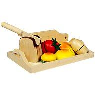 Holz Essen - Frühstück - Spielset
