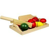Holz Lebensmittel - Obst und Gemüse - Spielset
