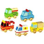 Set von 5 Stück Autos - Spielset