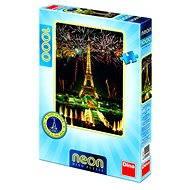 Dino Eiffelova věž s neonem