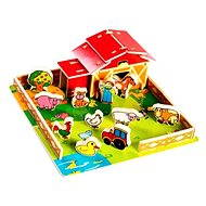 Playhouse - Wooden farm animals