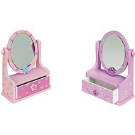 Jewelry Box - Mirror with drawers