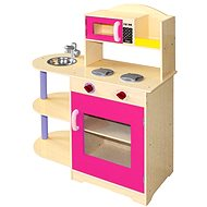 Bino Kinderküche mit Mikrowelle - Kinderküche