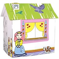 Cardboard playhouse for princess