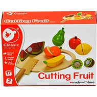 Fruit slicing with a cutting board - Play Set