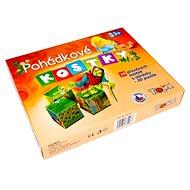 Drevené kocky - Rozprávky 20 ks