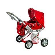 Magda stroller red