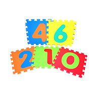 Pěnové puzzle - Číslice - Podložka do dětského pokoje