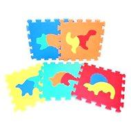 Pěnové puzzle - Dinosauři - Podložka do dětského pokoje