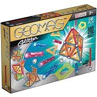 Geomag - Glitter 68 dílků - Magnetická stavebnice