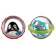 Aquatic animals in the ball