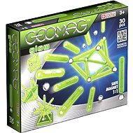 Geomag - Color Glow 30 dílků - Magnetická stavebnice