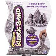 Kinetický písek - 454 g Metalic stříbrná - Kreativní sada