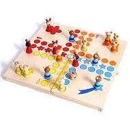 Dřevěné hry - Člověče nezlob se, zvířátka - Společenská hra