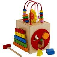 Aktivní motorická kostka - Sluníčko - Didaktická hračka