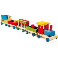 Emil wooden train