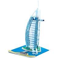 Třívrstvé pěnové 3D puzzle - Burj Al Arab - Puzzle