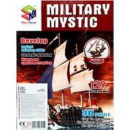 Trojvrstvové penové 3D puzzle - Historická plachetnica loď Mystic