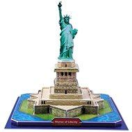 Třívrstvé pěnové 3D puzzle - 3D Socha svobody - Puzzle