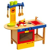 Detská drevená kuchynka - Magic