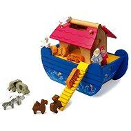 Wooden Noah's Ark Blue