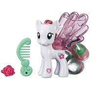My Little Pony - Průhledný poník Blossomforth s třpytkami a doplňkem - Figurka