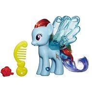 My Little Pony - Poník Rainbow Dash s priehlednými krídlami a doplnkom