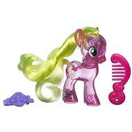 My Little Pony - Průhledný poník Flower Wishes s třpytkami a doplňkem - Figurka