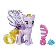 My Little Pony - Priehledný poník Lily Blossom s trblietkami a doplnkom