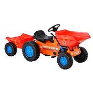 Detský traktůrek - Vyklápacie s vlekom Hecht 51412 - Šliapací traktor