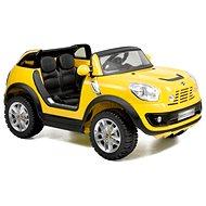 Dětské auto Mini Beachcomber žluté - Elektrické auto