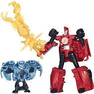 Rid Transformers - Sideswipe vs. Decepticon Anvil