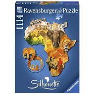 Ravens Shape Puzzle - afrikanischen Kontinent