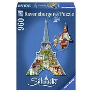Shape Puzzle - Eiffel Tower, Paris