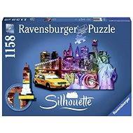 Ravensburger Shape Puzzle - Skyline, New York