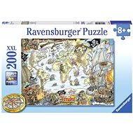 Ravensburger Piraten-Karte