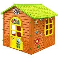 Záhradný domček s krtkom