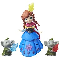 Disney Fozen Little Kingdom - Anna & Rock Trolls - Puppe