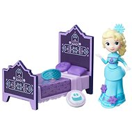 Ice Kingdom - Small Rise and Elsa doll with bed