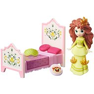 Ice Kingdom - Little doll Rise and Anna with a bed
