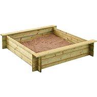 Holz-Sandkasten
