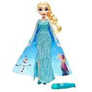 Ice Kingdom - Doll Elsa with colouring skirt - Doll