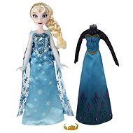Ice Kingdom - Elsa doll with a spare dress - Doll