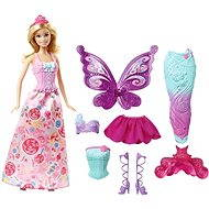 Mattel Barbie 3-in-1 Fantasie Barbie - Puppe