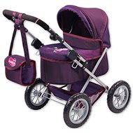 Trendy lila Kinderwagen