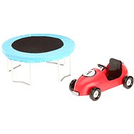 Lundby Smaland - Trampoline and car