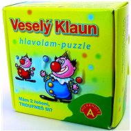 Puzzle hlavolam - Veselý klaun