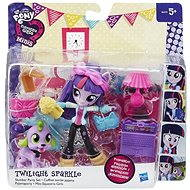 My Little Pony Equestrii Girls - Malá bábika Twilight Sparkle s doplnkami
