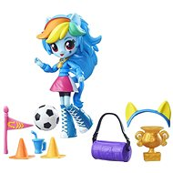 My Little Pony Equestria Girls - Little Rainbow Dash doll with accessories
